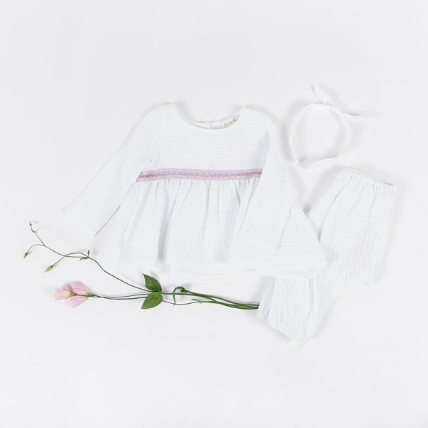 Eva Blouse - White