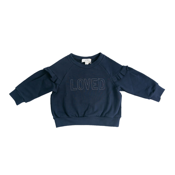 Loved Top - Navy