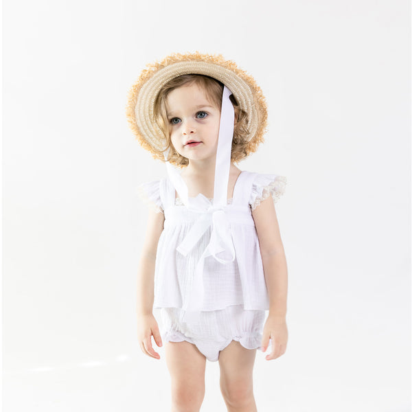 Sienna Hat - White