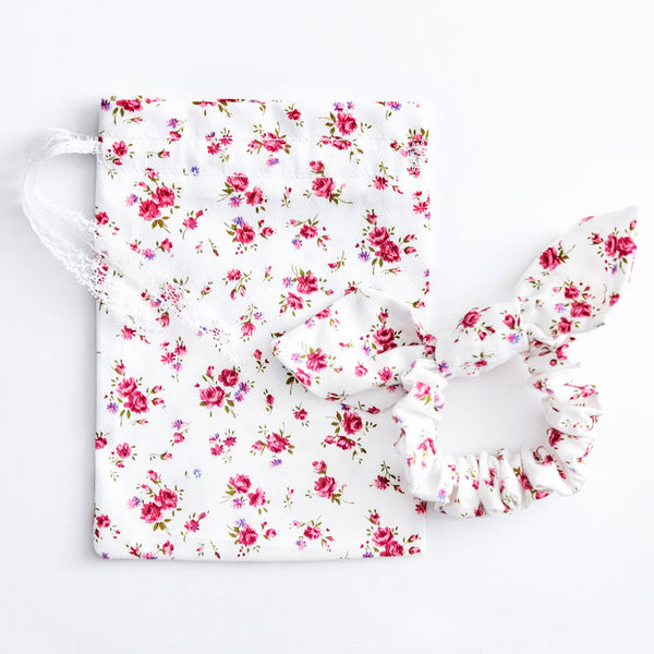 Top Knot Scrunchy - Floral