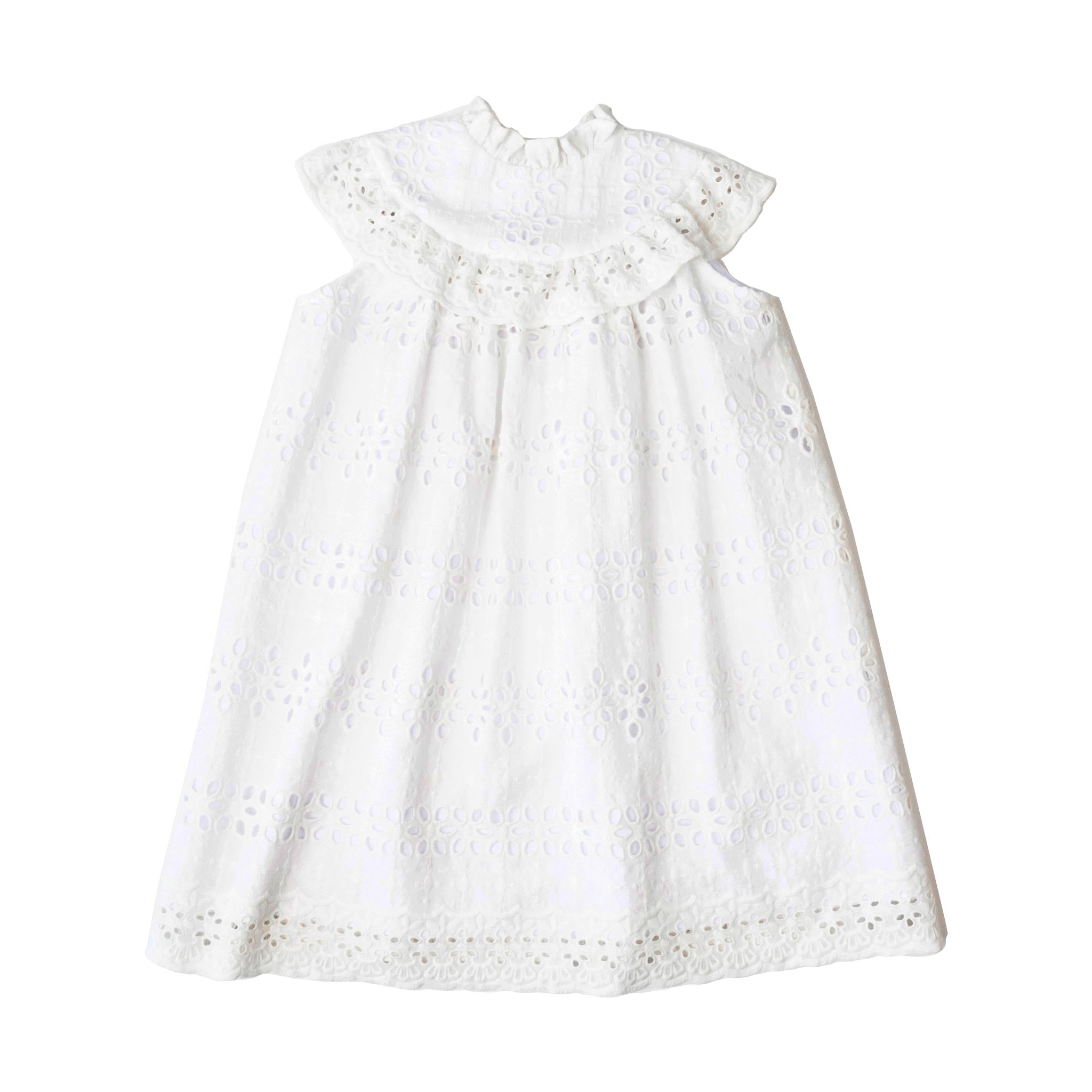 Vivienne Dress - White Eyelet