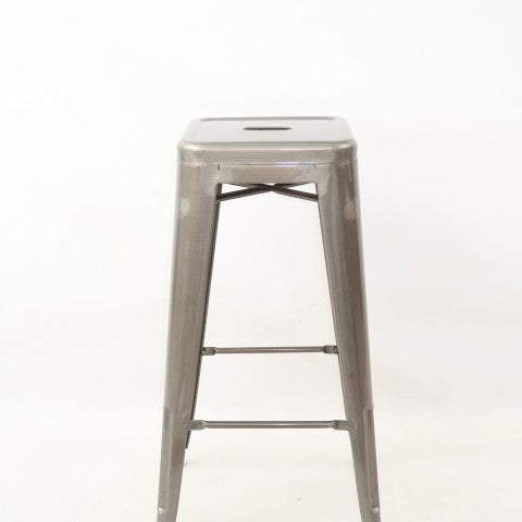 replica tolix metal kitchen stool galvanised mad chair company