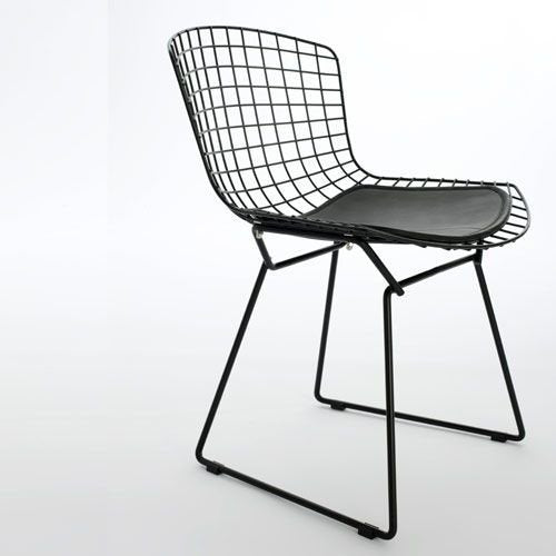 Replica Harry Bertoia Wire Chair Mad chair Company Black