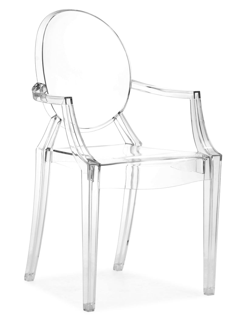 replica ghost  armchair Clear plastic polycarbonate  mad chair company