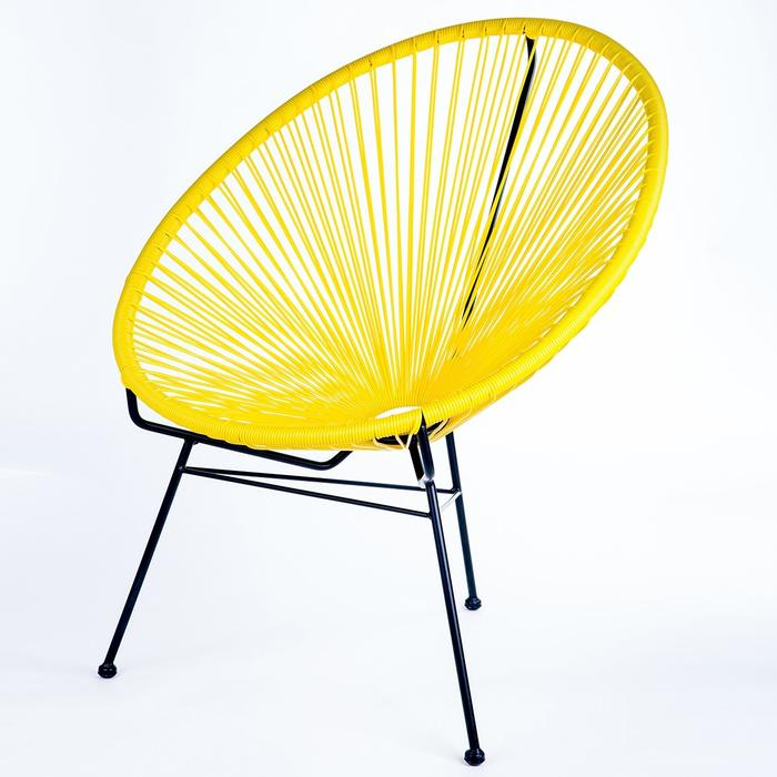 Replica Acapulco Chair Kids Yellow Mad chair Company