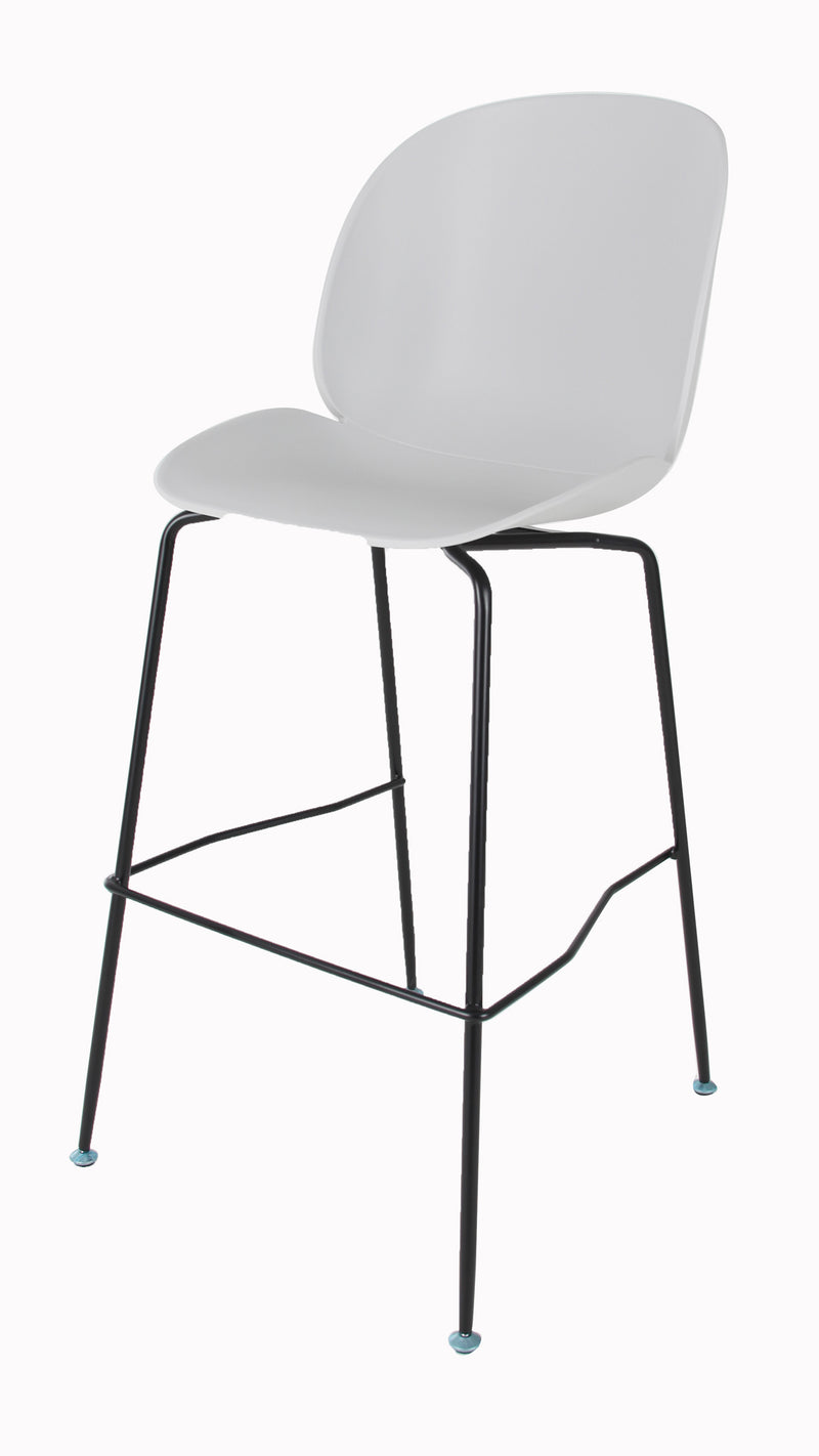 Replica Beetle Barstool - 66cm Matt Black Leg MAD CHAIR COMPANY