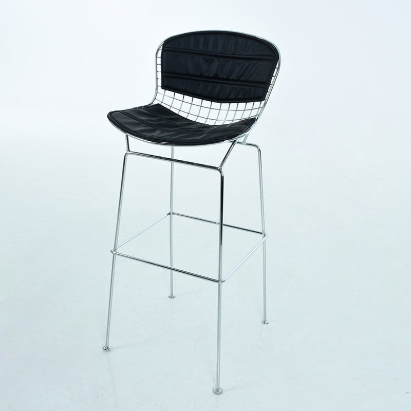Replica Harry Bertoia Wire Barstool - 76cm seat height Chrome Mad chair Company
