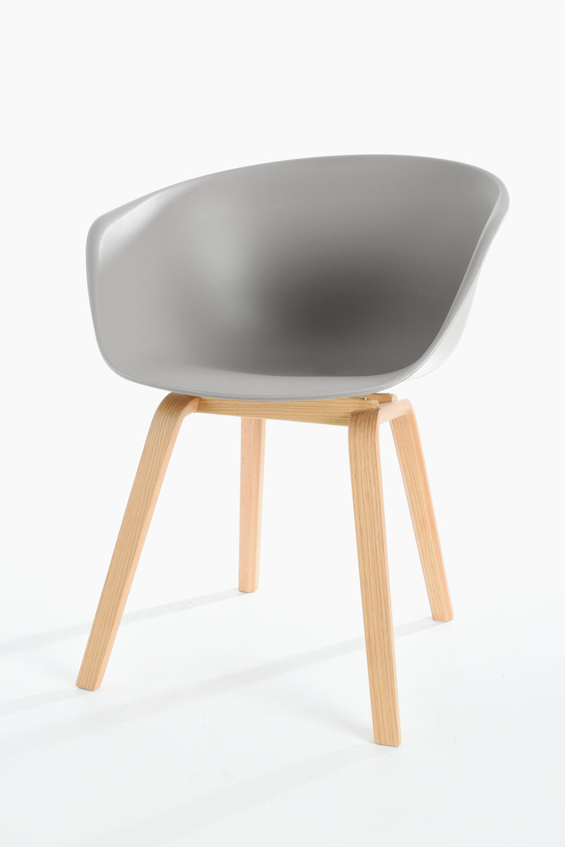 replica hay wood chair light grey plastic mad chair company
