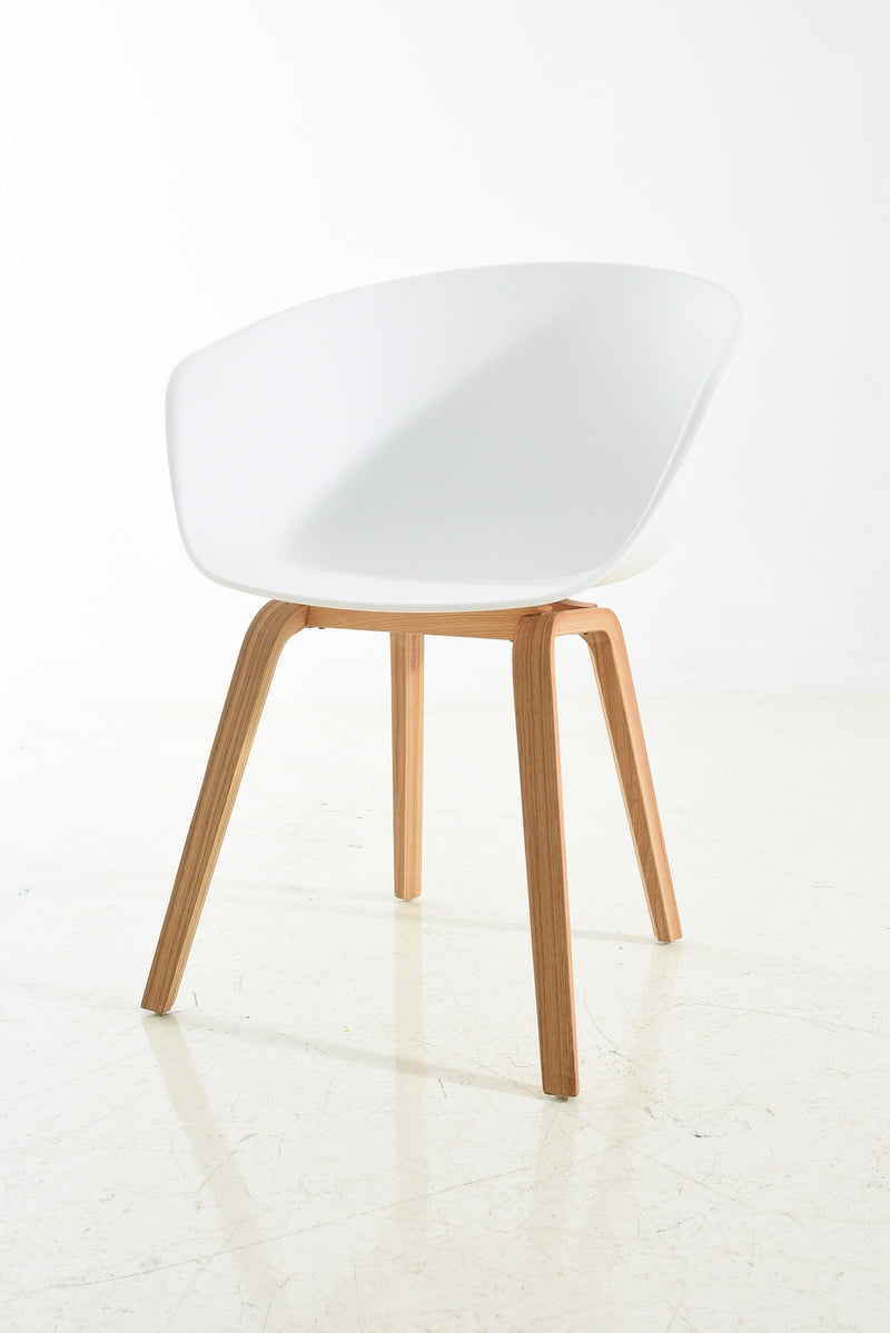replica hay wood chair white plastic mad chair company