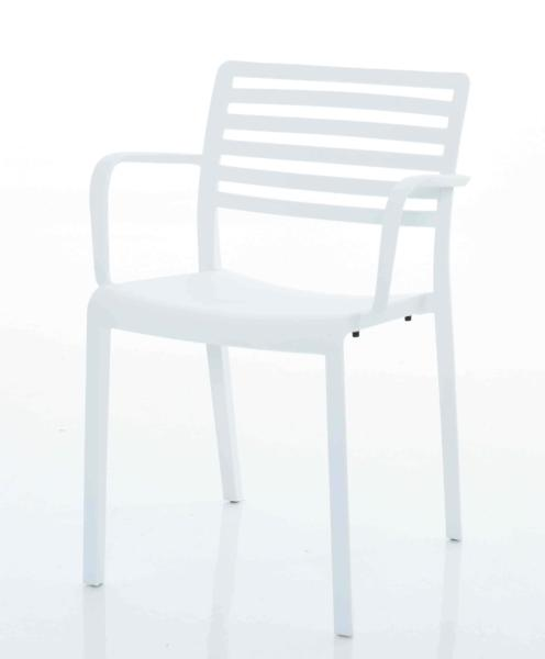 Lama Arm Chair White plastic Mad Chair Company