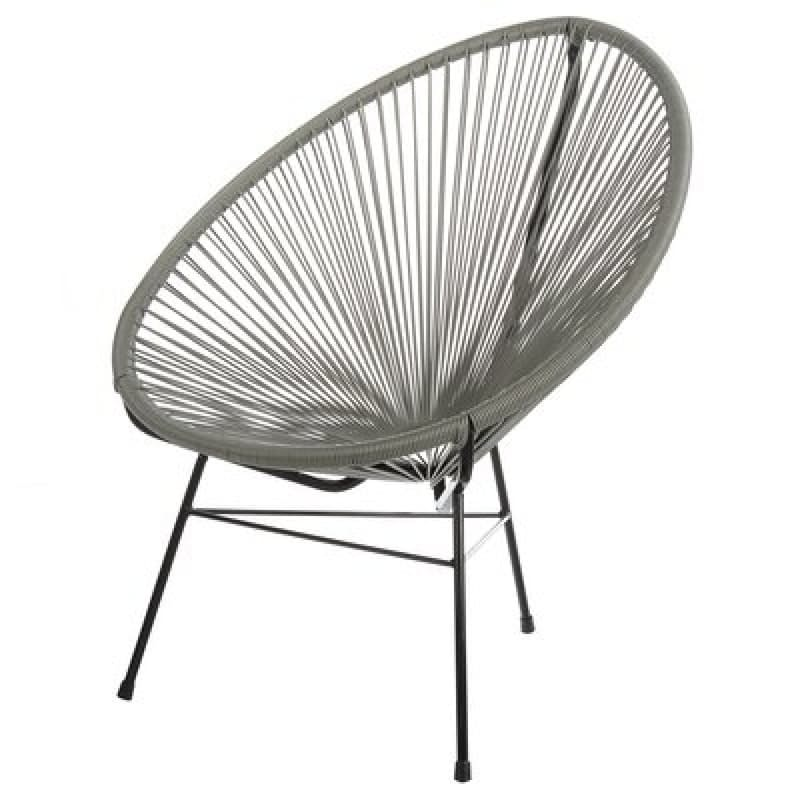 Replica Acapulco Chair Grey Mad Chair Company