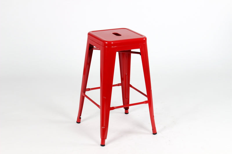 replica tolix metal kitchen stool red mad chair company