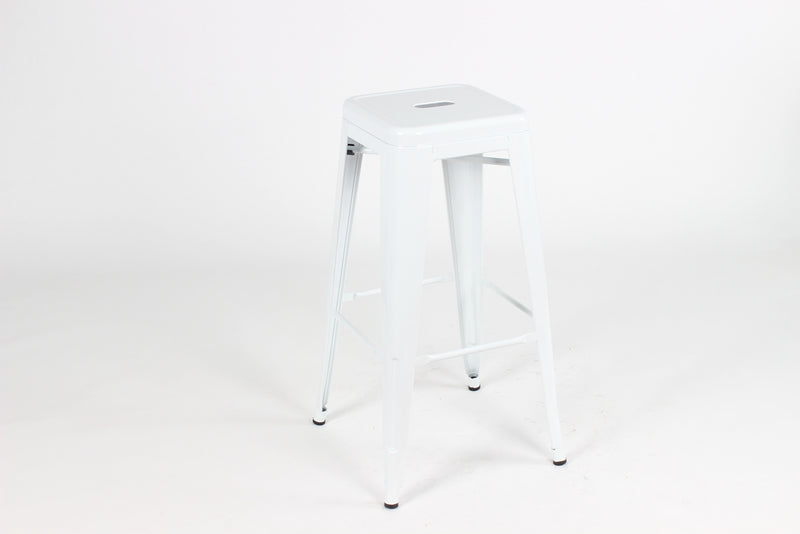 replica tolix kitchen stool white mad chair company