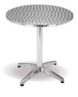 Stainless Steel Table Top Round Mad Chair Company