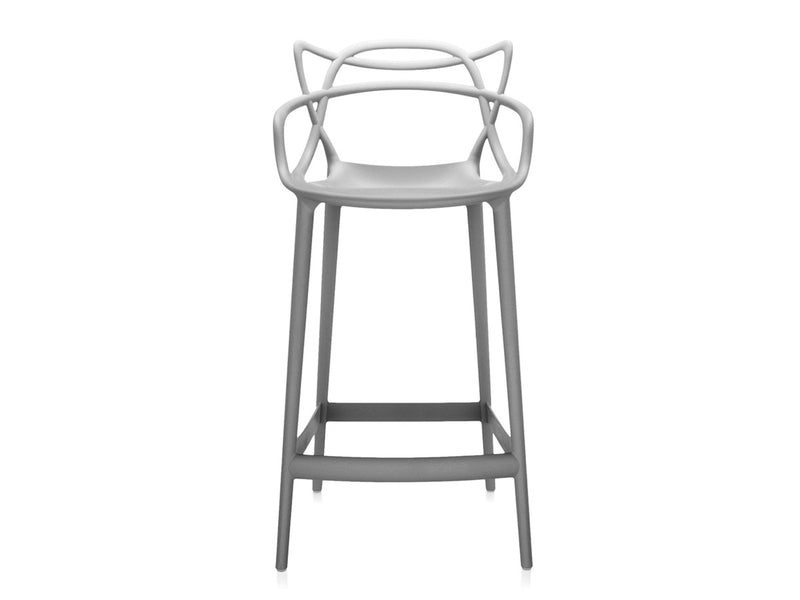 replica masters bar stool light grey plastic mad chair company