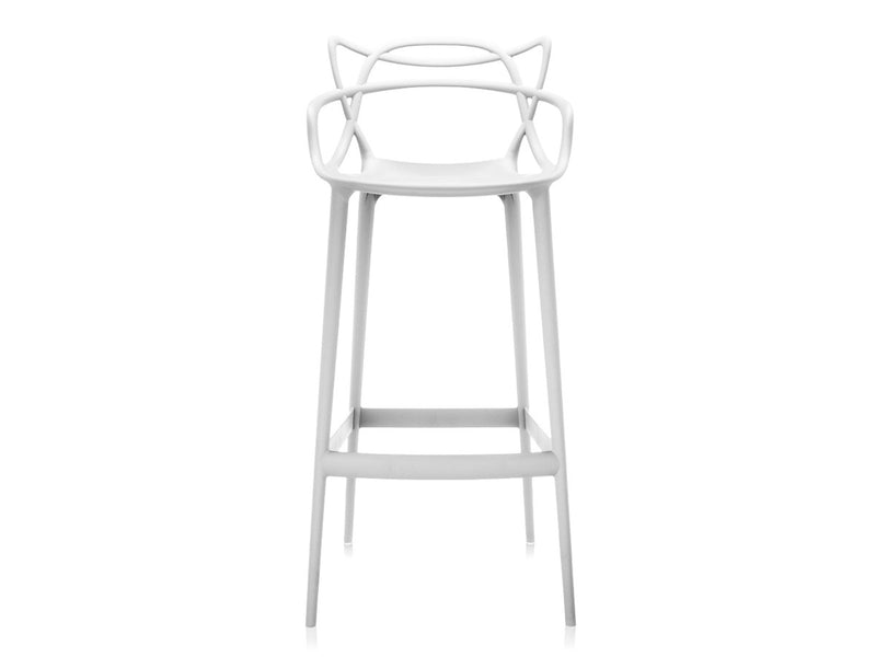 replica masters bar stool white plastic mad chair company