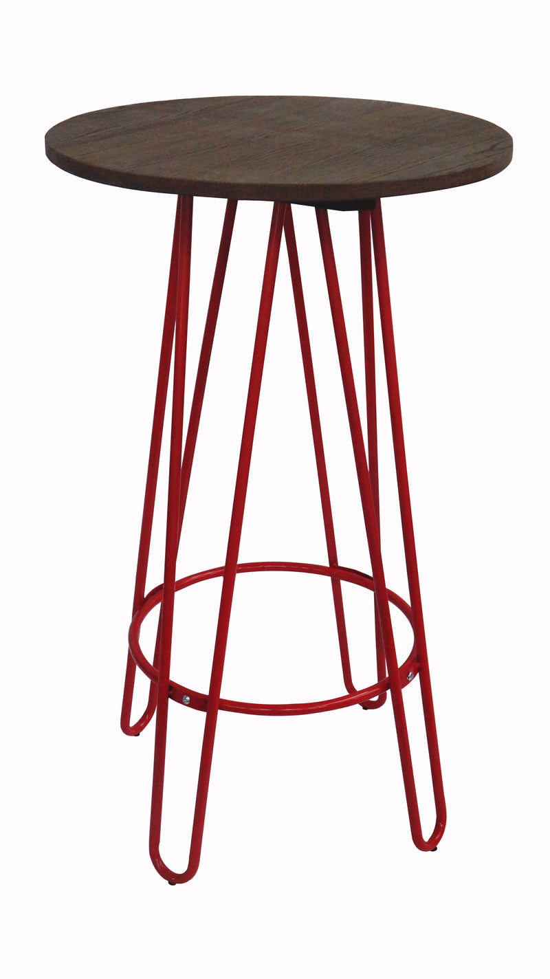 replica hairpin metal bar table red mad chair company