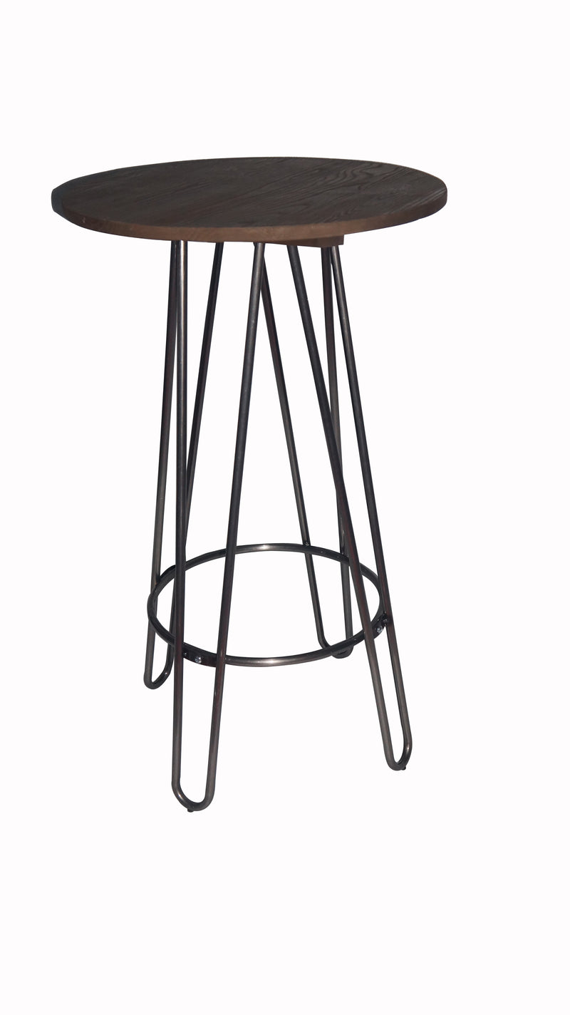 replica hairpin metal bar table black mad chair company