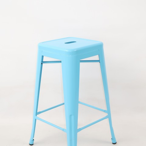 replica tolix metal kitchen stool turquoise mad chair company