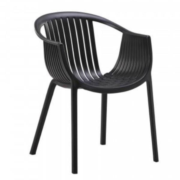 Tatami Cafe Chair Black Mad Chair Company