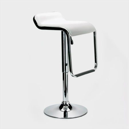 Replica Waterfall Bar Stool - Adjustable Height White Mad Chair Company