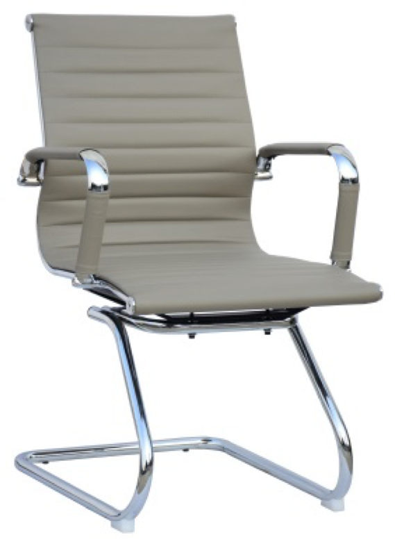 Replica Eames Visitor Chair - PU Sleigh Base Mad Chair Company