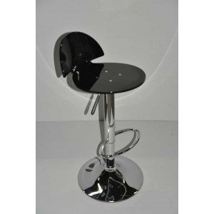 Black Sapphire Barstool - Adjustable Height Mad Chair Company