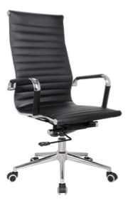Replica Eames High Back Office Chair - Leather Mad Chair Company