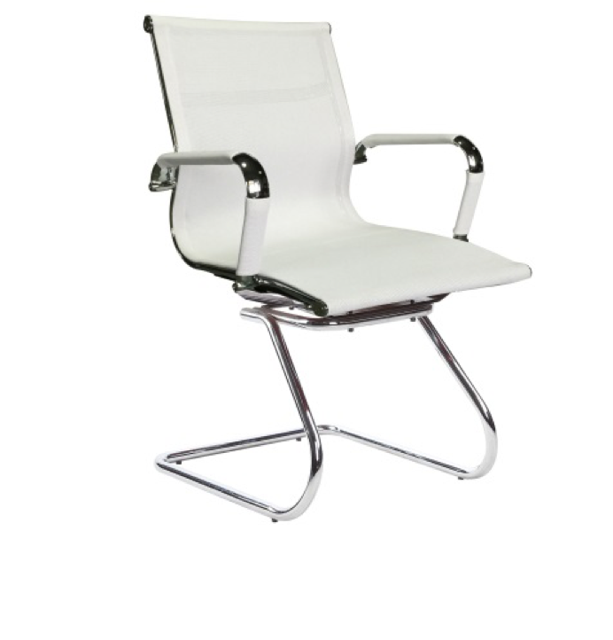 Replica Eames Visitor Chair - Mesh Sleigh Base Mad Chair Company