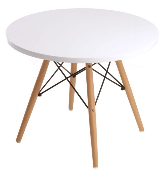 replica eames kids table white mad chair company