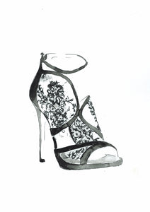 Jimmy Choo Lace Shoe