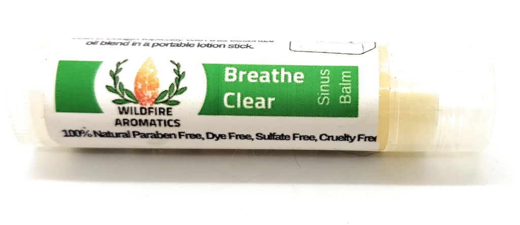 Breathe Clear Sinus Stick, Aromatherapy Lotion stick for stuffy nose