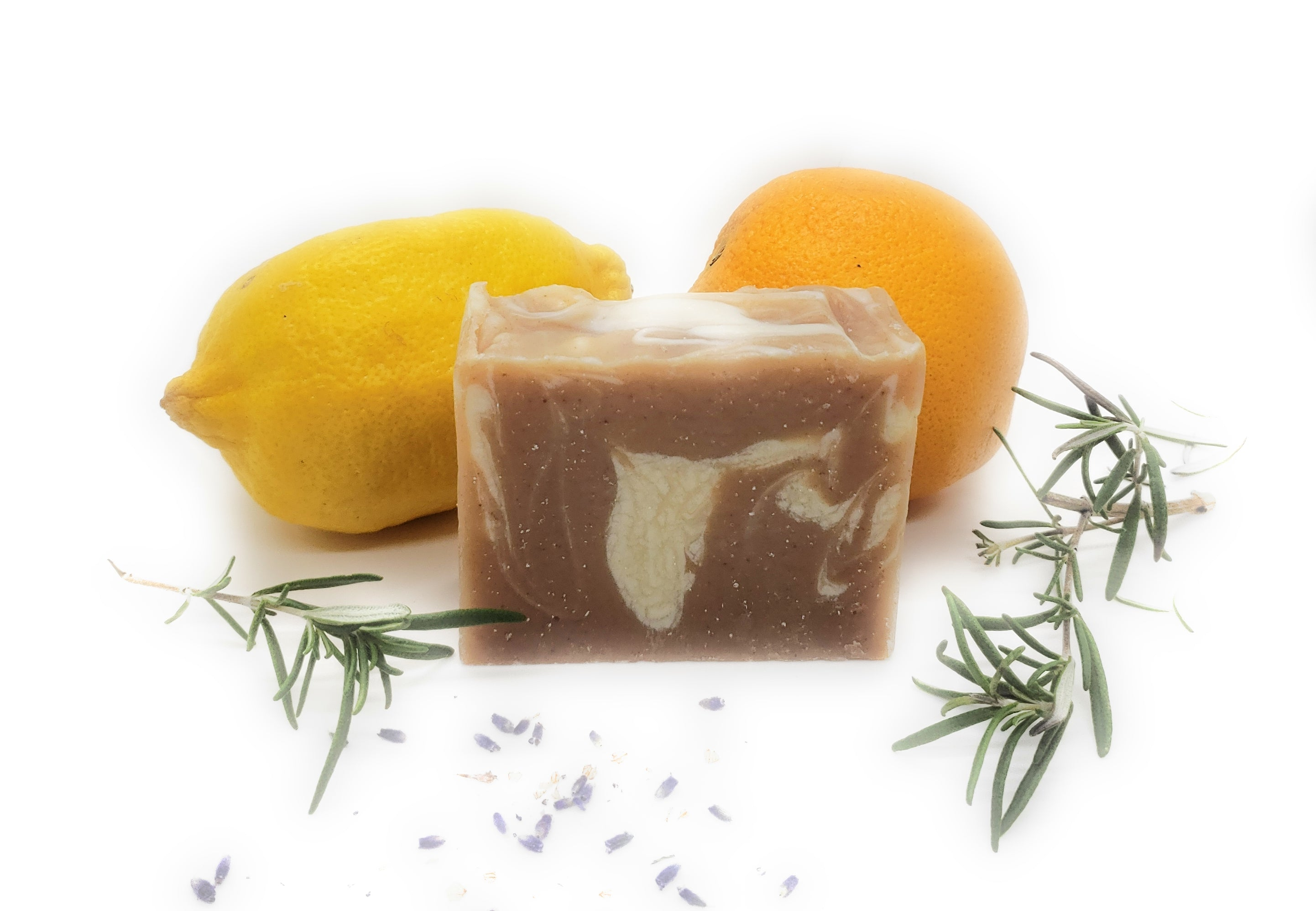 Natural conditioning shampoo soap bar for oily hair