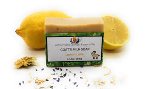 Goat's Milk Soap, Lemon Love