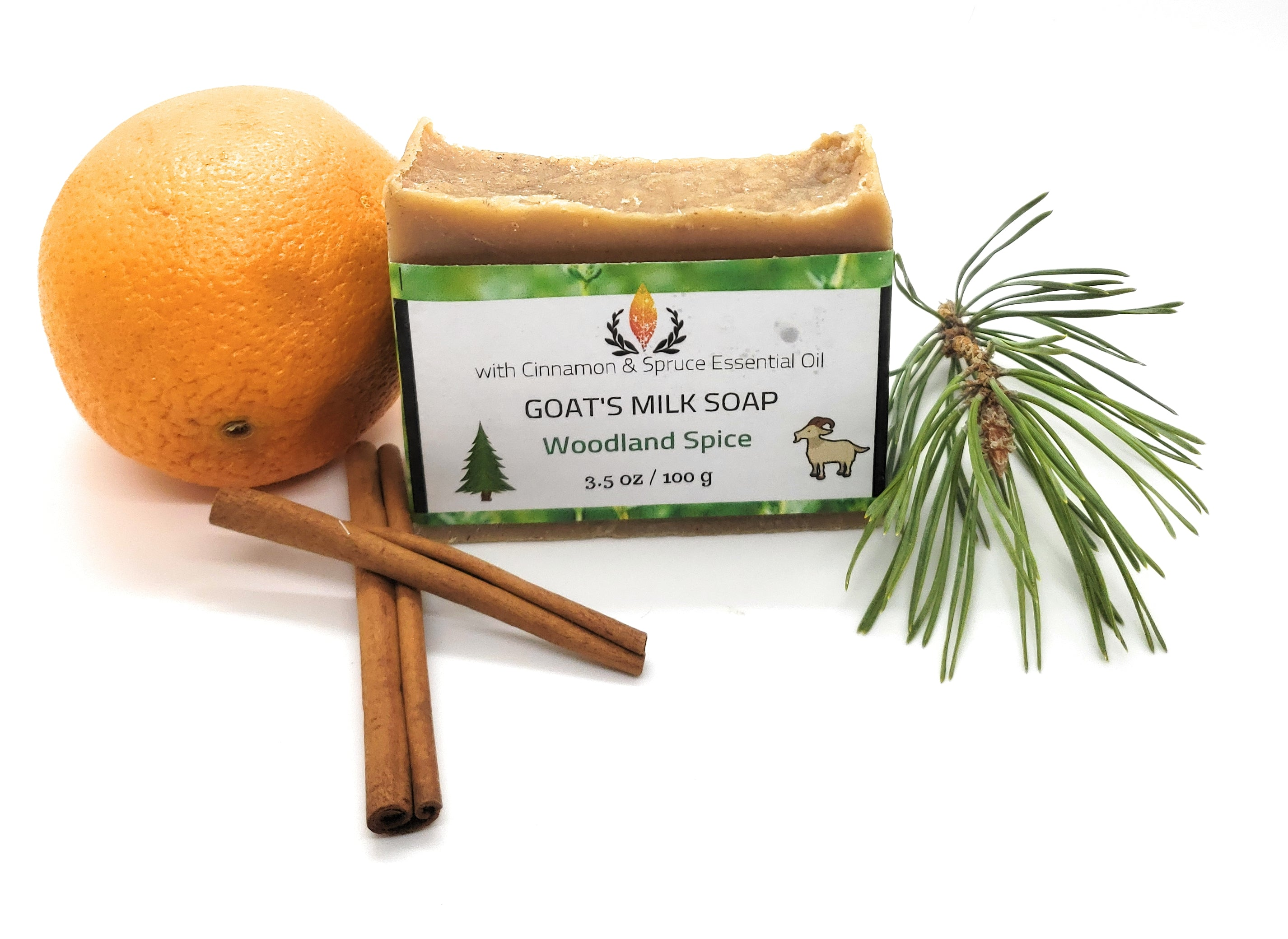 Goat's Milk Soap, Woodland Spice