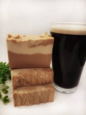 Beer in the Woods, Cedarwood, Fir and Orange Irish Beer Soap
