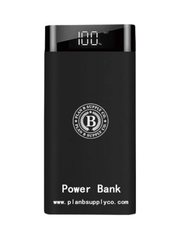 Plan b supply Co power bank 20,000 mah