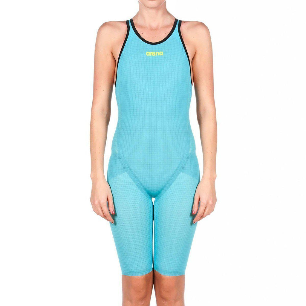 ARENA Carbon-FLEX VX Female Open Back - Turquoise (size 26 &30)-TechSuits.ca