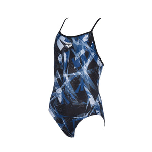 Arena Girl's Night Lights Junior Drop Back One Piece-TechSuits.ca