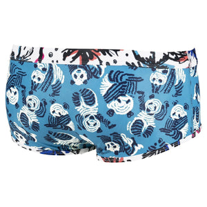 ARENA Panda Reversible Mens Low Waist Shorts-TechSuits.ca