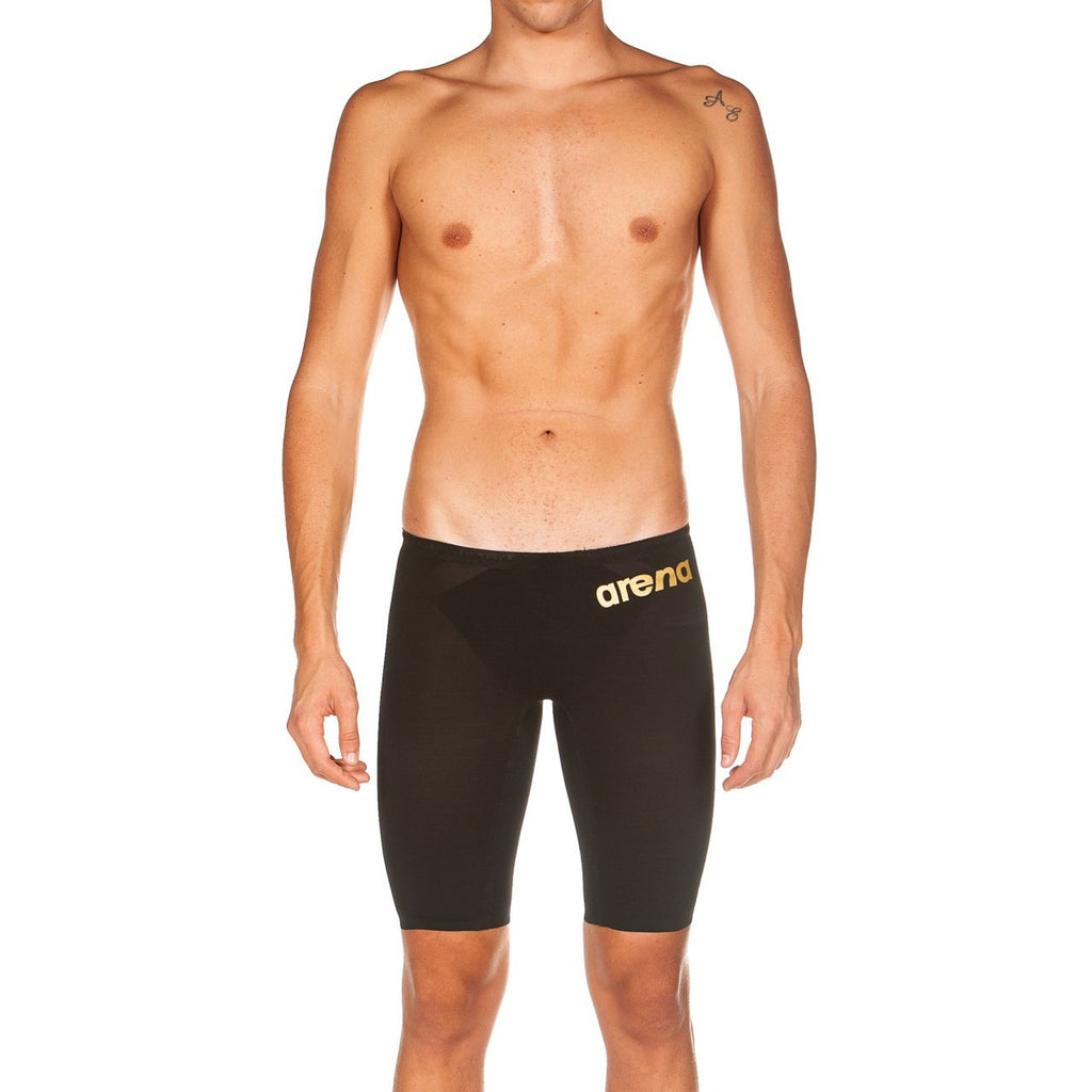 ARENA POWERSKIN Carbon-AIR 2 Men's Jammer - Black-Gold-TechSuits.ca