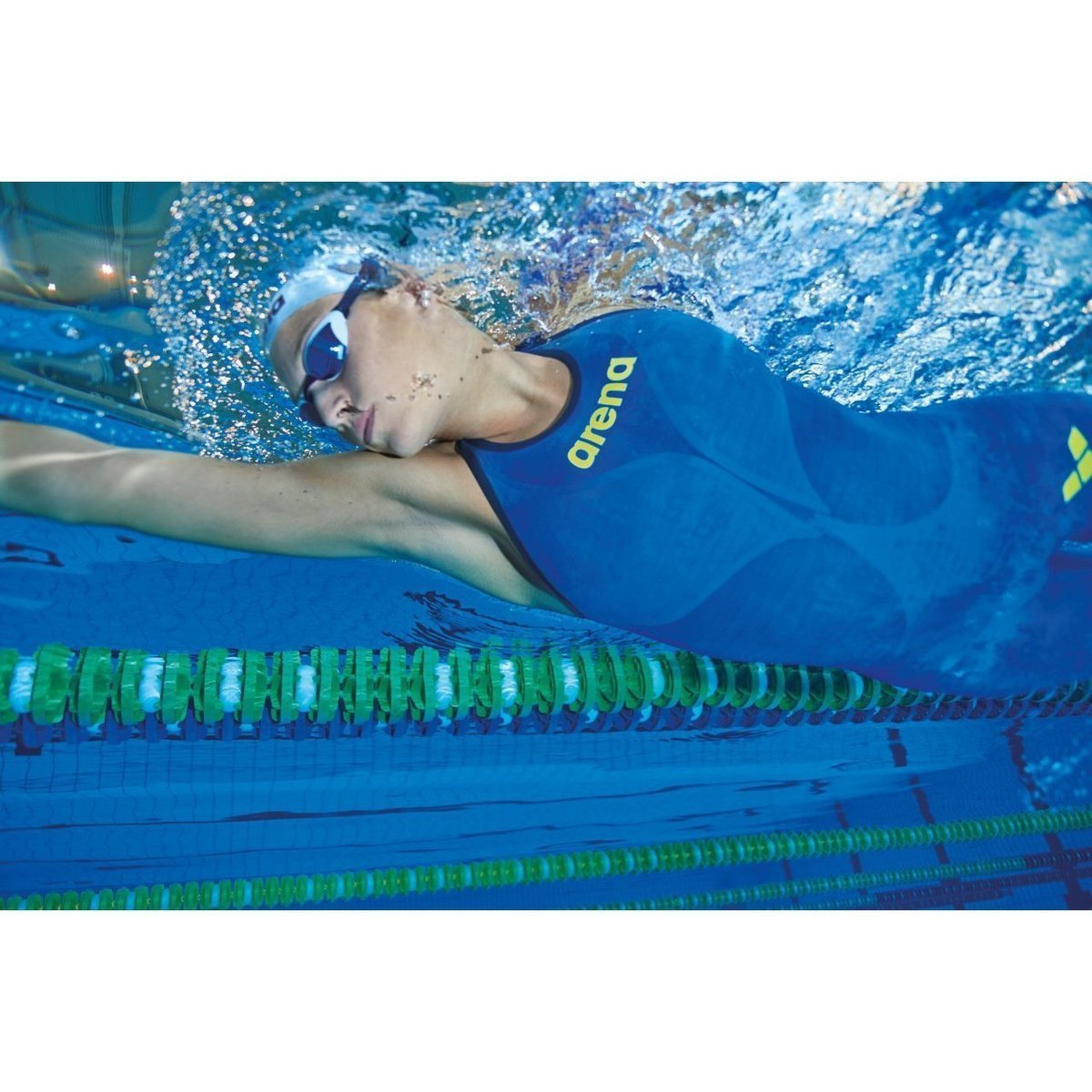 ARENA POWERSKIN Carbon-AIR 2 Women's Open Back - Electric Blue-TechSuits.ca
