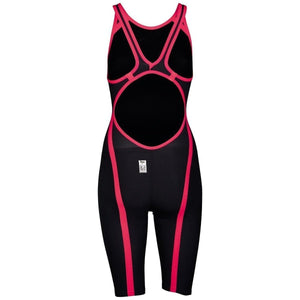 ARENA Powerskin Carbon-FLEX VX Female Open Back - Dark Grey-Red (size 26 & 30)-TechSuits.ca