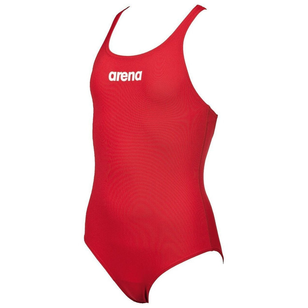 Arena Training - Solid Girl's Swim Pro Back - Red/Black/Royal/Navy-TechSuits.ca