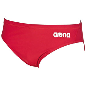 Arena Training - Solid Men's Brief - Red, Royal, Black-TechSuits.ca