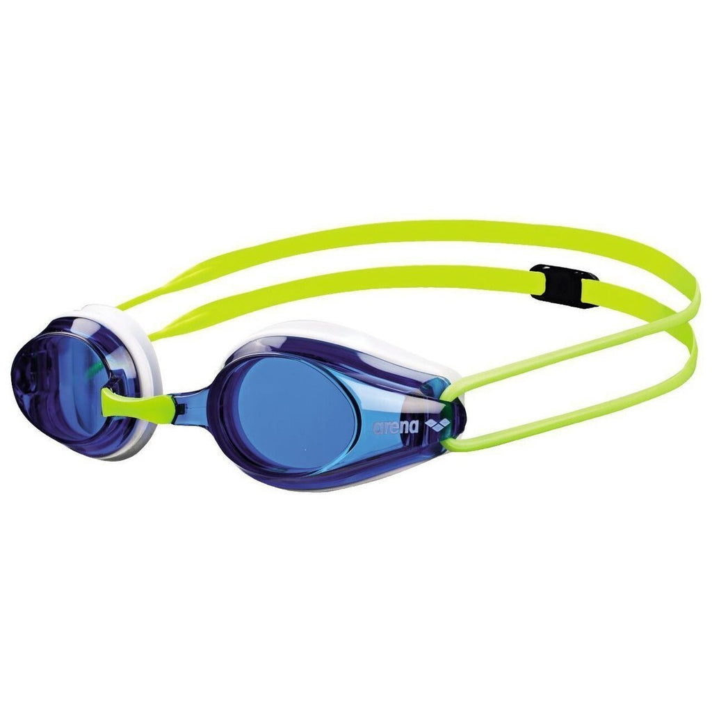 Junior ARENA Tracks Goggles - Blue/White/Yellow-TechSuits.ca