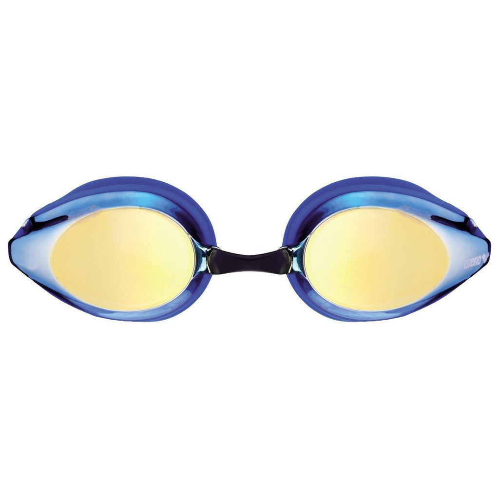 Junior: ARENA Tracks Mirror Goggles - Blue-Yellow-Copper/ Blue-Black-TechSuits.ca
