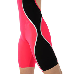 SPEEDO Fastskin LZR Pure Intent Women's Open Back - Red/Black-TechSuits.ca