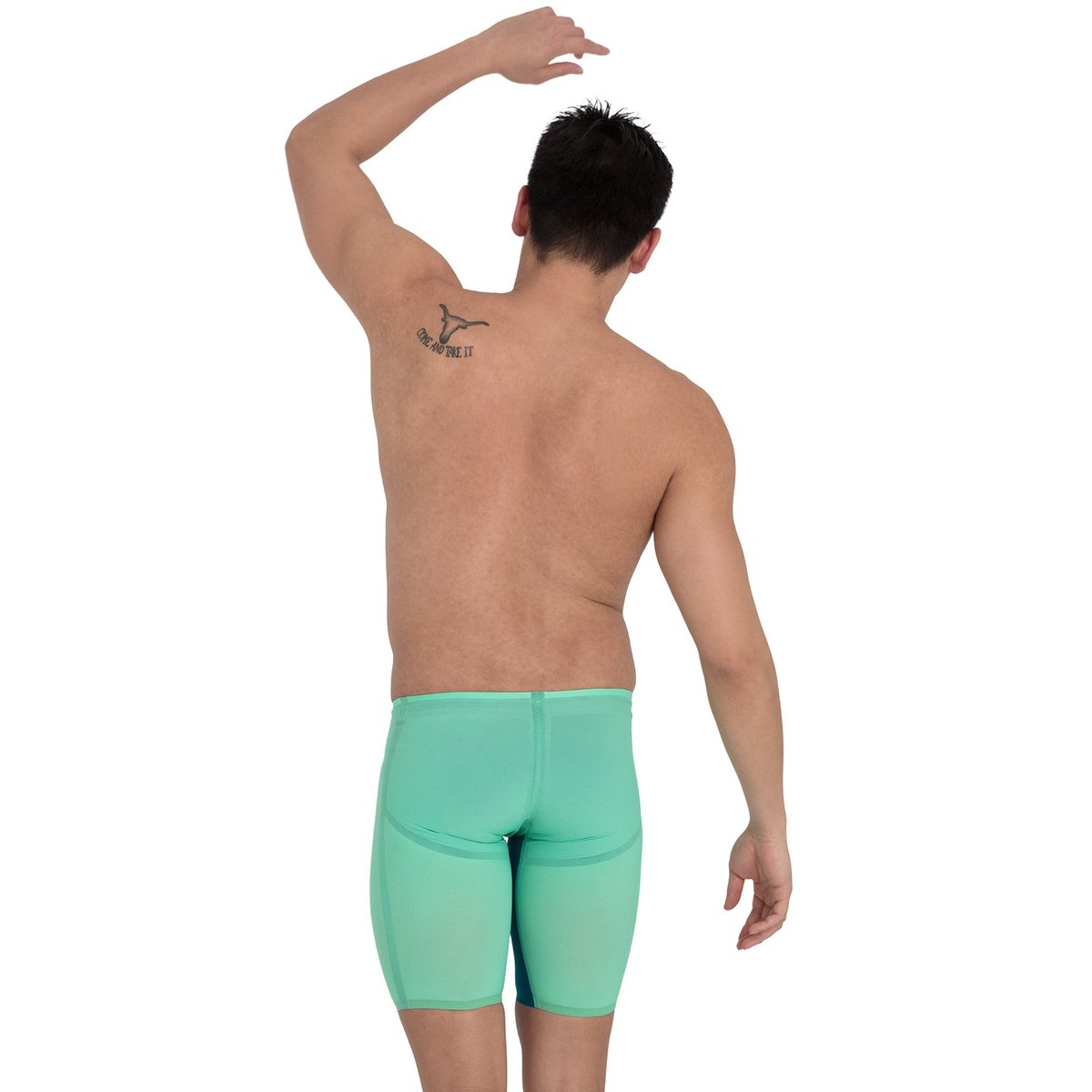 SPEEDO Fastskin LZR Pure Valor Men's Jammer - Green Glow-TechSuits.ca