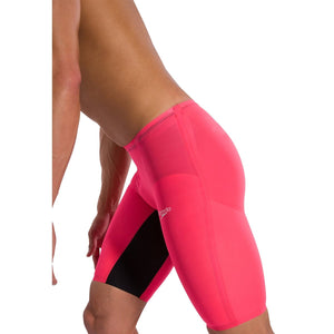 SPEEDO Fastskin LZR Pure Valor Men's Jammer - Red/Black-TechSuits.ca